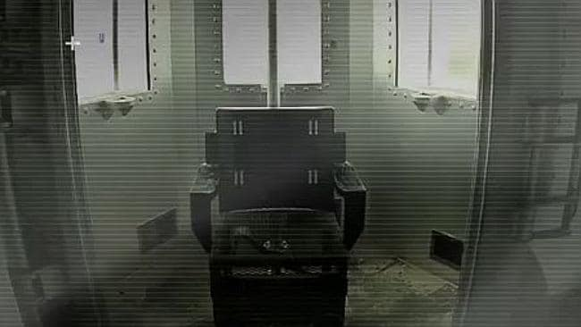Death by gas chamber - this was the punishment set down for Kirk Bloodsworth. Picture: Screengrab/OneforTen