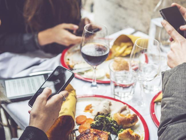 Makes it hard to foodstagram, though. Picture: iStock