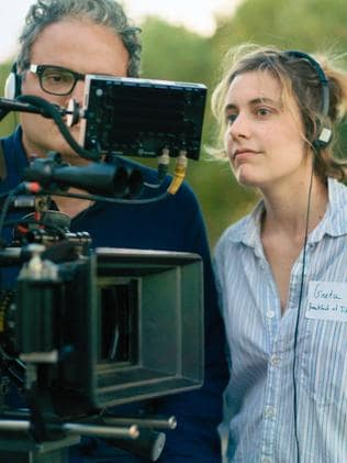 Greta Gerwig is just the fifth woman to be nominated for a Best Director award. Picture: Merie Wallace/A24 via AP