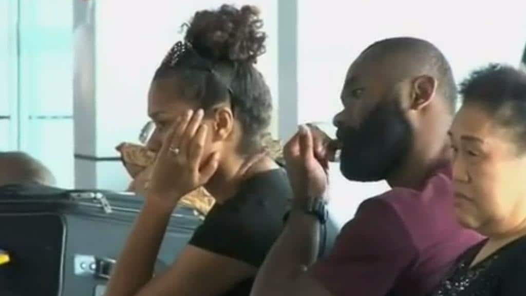 Radradra was spotted with a mystery women at Fiji airport.