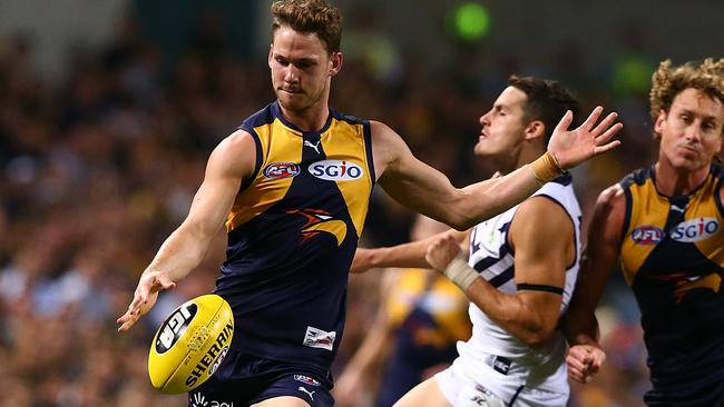 Jack Redden hopes to help fill the void left by Sam Mitchell and Matt Priddis.