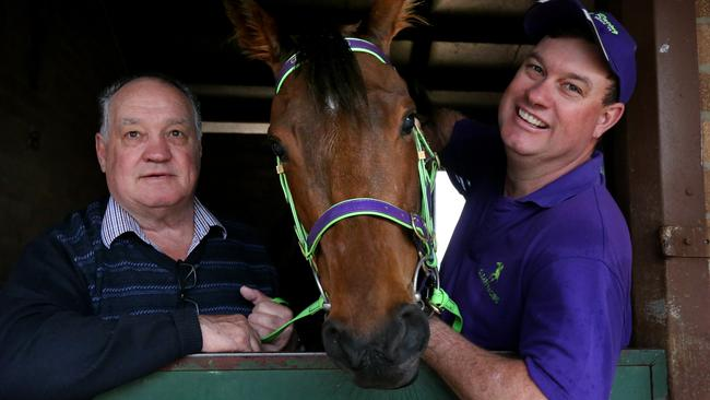 Trainer Joe Cleary has brought the best out of Chaquinta.