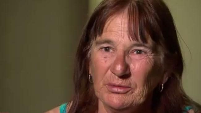 Dianne Bramstead (pictured) said her family struggles on the money. Picture: A Current Affair/Channel 9