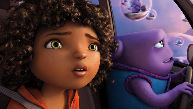 There's no place like home. But there's a lot of so-so animated films like Home.
