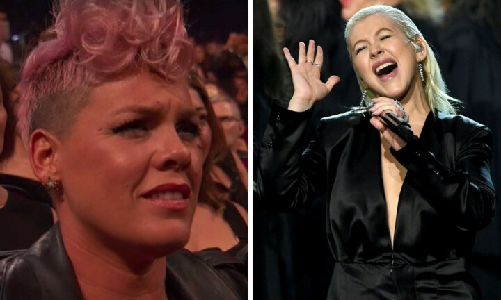 Pink has something to say about Christina's AMAs performance