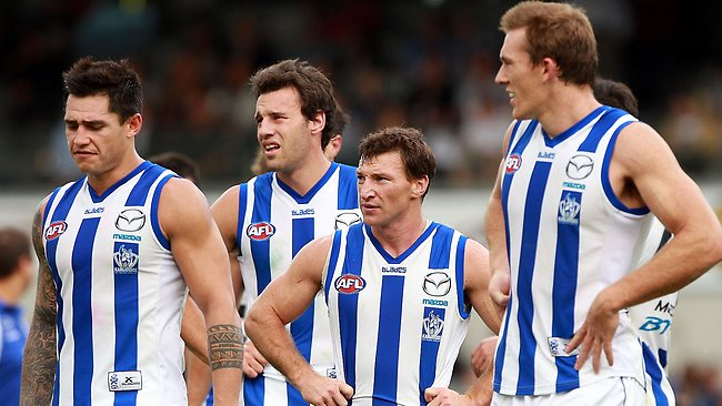 North Melbourne failed to live up to its big expectations against an undermanned West Coast at Patersons Stadium.