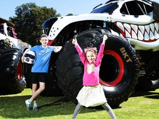 Monster Jam Trucks at Adelaide Oval