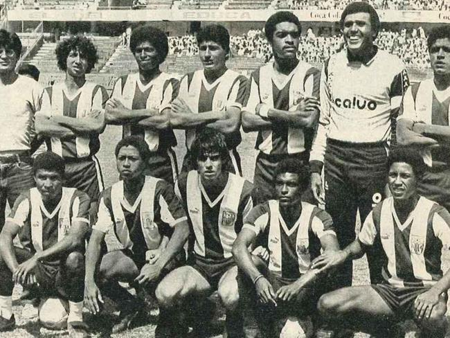 The Alianza Lima team of 1987.