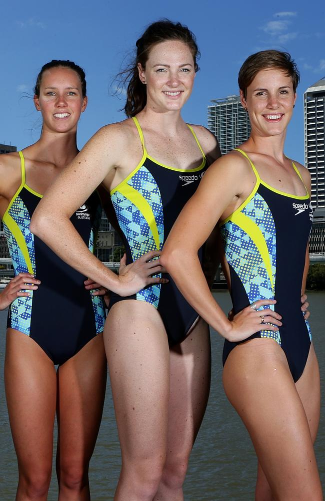 Emma, Cate and Bronte Campbell will compete against each other in the 100-metre freestyle.