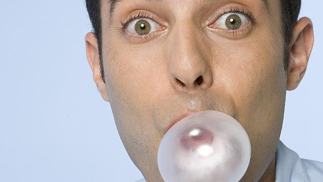 Gum chewing. For a living. It's a thing.