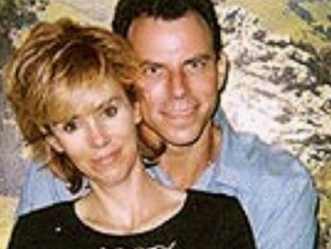 Prison photo of Erik Menendez and his wife Tammi who has remained devoted to him for 20 years.