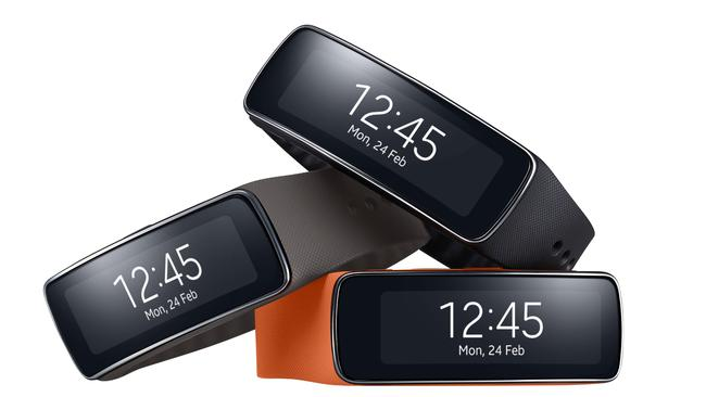 The Samsung Gear Fit performed well.