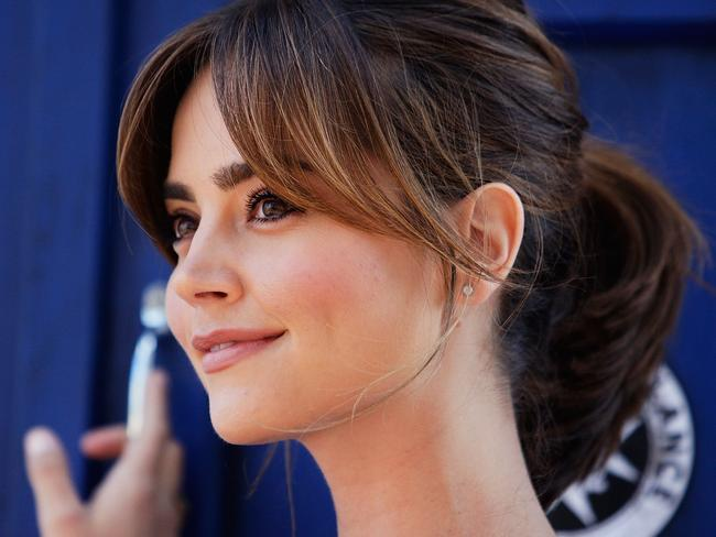 Jenna Coleman ... reveals secrets from the set of Doctor Who. Picture: Lisa Maree Williams/Getty Images