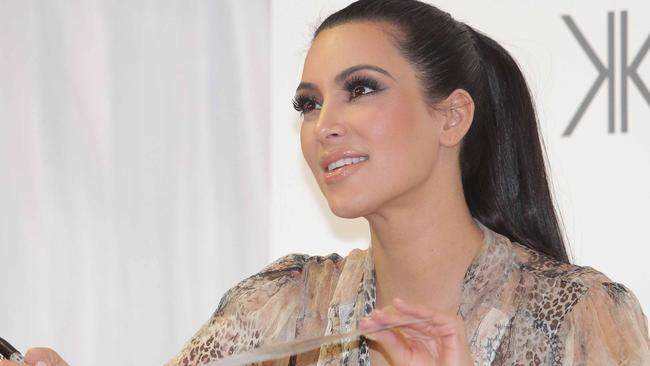 Kim Kardashian visited an Aussie Westfield shopping centre last year.