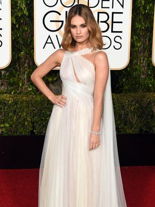 Lily James. Picture: Getty