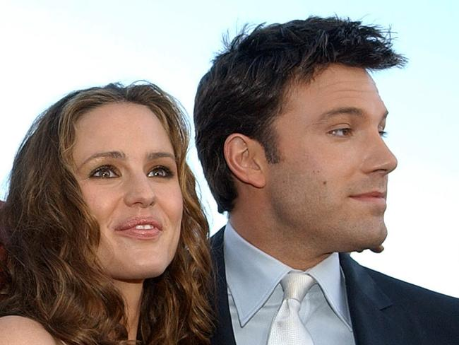 Dating ... Jennifer Garner and Ben Affleck in the early days of their romance.