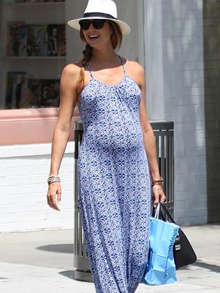 Stacy Keibler spotted out and about in Beverly Hills.