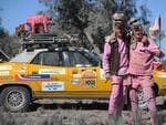 Members of the highest fundraisers, Car Hog, near Bourke, NSW. Photo Naomi Jellicoe