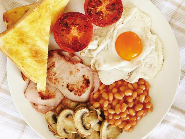 Who doesn't love a good big brekky? Picture: Supplied