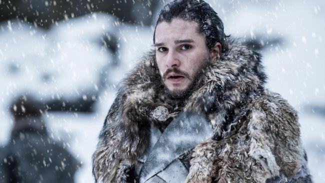 Jon Snow survived the brutal battle beyond the wall. Picture: HBO