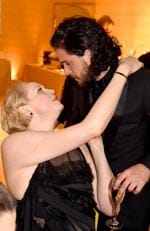 Gwendoline Christie and Kit Harington attend HBO's Official 2018 Golden Globe Awards After Party on January 7, 2018 in Los Angeles, California. Picture: Getty