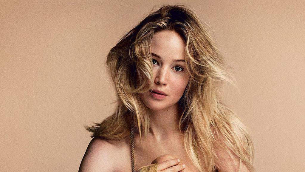Jennifer Lawrence for her September Vogue cover. Picture: Annie Leibovitz for Vogue