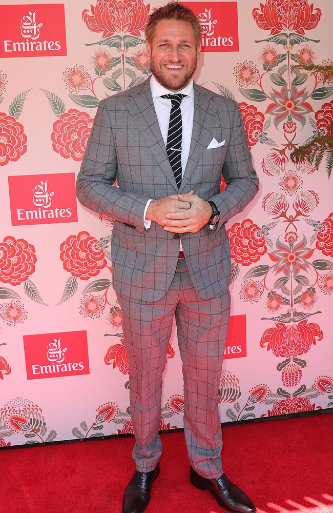 Curtis Stone in the Emirates marquee.