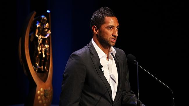 Former Wests Tigers player Benji Marshall launches the 2011 season.