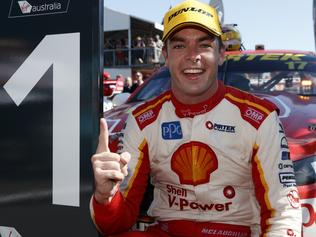 Supplied Unknown Supercars drive Scott McLaughlin wins the CrownBet Darwin Triple Crown today. Image s 2 of 2