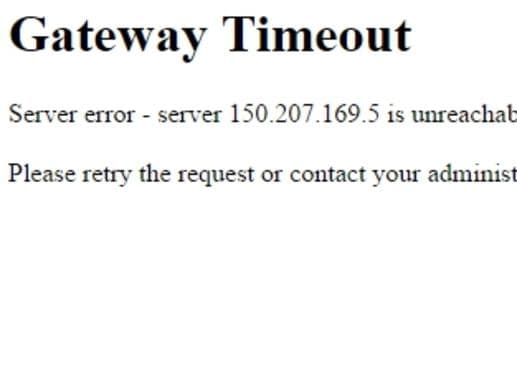 Something has broken the internet