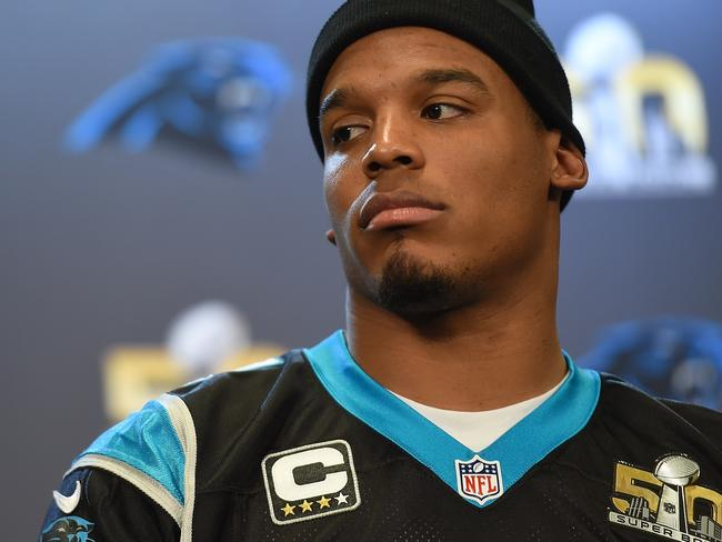 Panther quarterback Cam Newton will be paid less for playing today than he was in any other game this season.