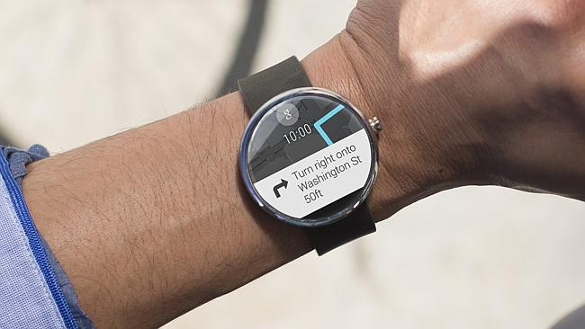 Turn-by-turn navigation on your wrist.