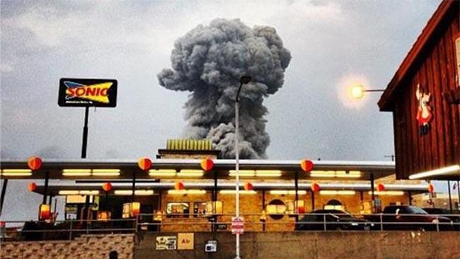 Explosion Waco Texas