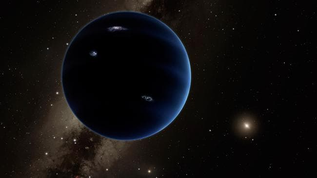 Accidents In The Solar System : Planet nine collision with giant ice on the edge