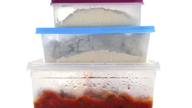 Store your food in plastic containers and put in the fridge or freezers immediately.