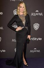 Actress Molly Sims attends InStyle and Warner Bros. 73rd Annual Golden Globe Awards Post-Party at The Beverly Hilton Hotel on January 10, 2016 in Beverly Hills, California. (Photo by Frazer Harrison/Getty Images)