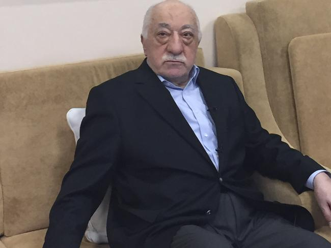 Turkish cleric and opponent to the Erdogan regime Fethullah Gülen. Picture: AFP
