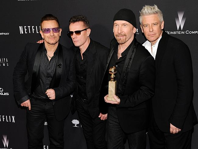 New album coming too ... Bono, Larry Mullen, Jr., The Edge and Adam Clayton, of the band