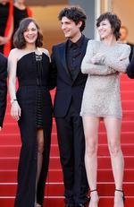 "Marion Cotillard, Louis Garrel and Charlotte Gainsbourg attend the ""Ismael's Ghosts (Les Fantomes d'Ismael)"" screening and Opening Gala during the 70th annual Cannes Film Festival at Palais des Festivals on May 17, 2017 in Cannes, France. Picture: Getty"
