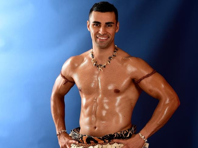 Pita Taufatofua of Tonga became a viral hit after the Rio Games. Picture: Getty