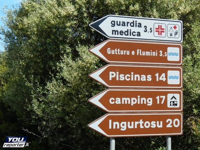 Funny town names are everywhere in Italy. Picture: YouReporter.it