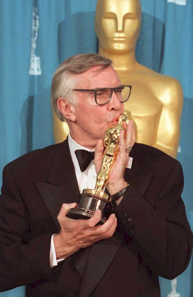Martin Landau won an Oscar for Best Supporting Role in Ed Wood. Picture: AFP