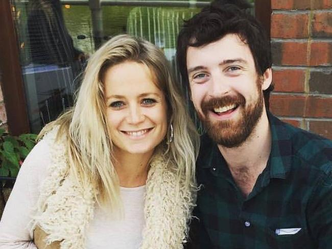 Emilyrose Fitzpatrick met husband Rory while she was studying in the UK. Picture: Facebook/Emilyrose Fitzpatrick