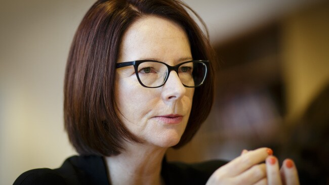 Julia Gillard during a meeting on January 29, 2018 in Berlin, Germany. Photo by Inga Kjer/Photothek via Getty Images.