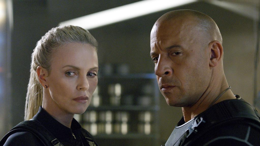Dom (Vin Diesel) goes rogue under the evil influence of Charlize Theron's Cipher in the box office busting The Fate of the Furious. Picture: Universal Pictures