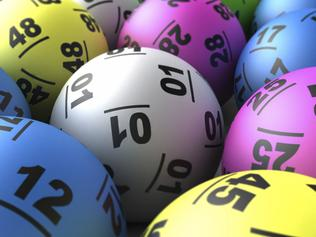Generic image of lotto balls used for a Lottery draw.