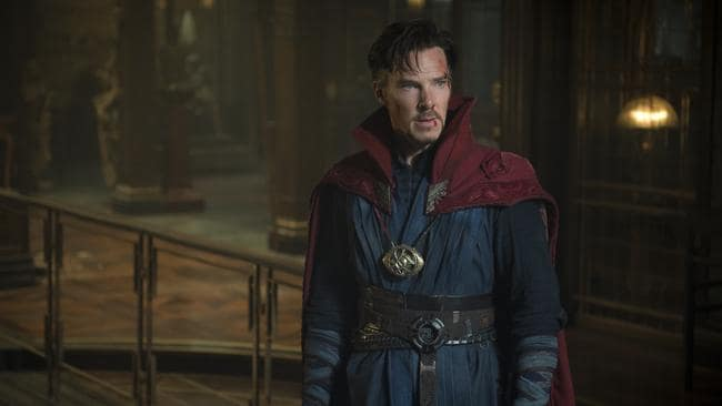 While filming, Benedict Cumberbatch walked into a comic book store in full costume and bought a Doctor Strange comic.