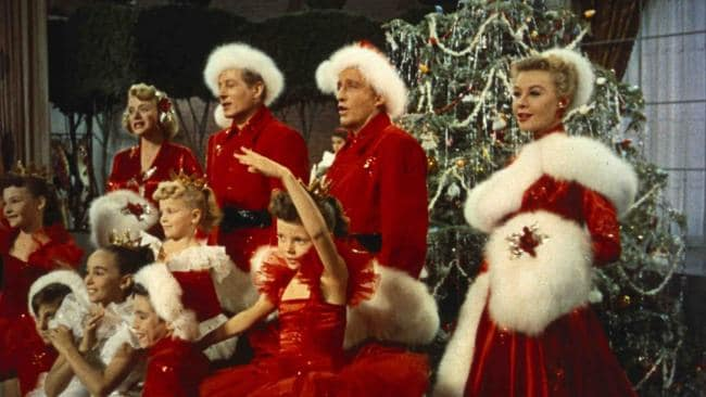 The film 'White Christmas' is the only snow many people will see this year.