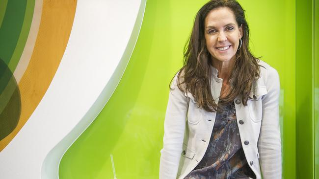 Boost Juice founder Janine Allis says don't put all your eggs in one basket. Picture: Eugene Hyland
