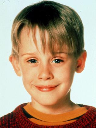 As Kevin McCallister in the 1990 film Home Alone. Picture: Supplied